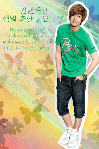 Kim Hyun Joong,, Happy Birthday!! ^^